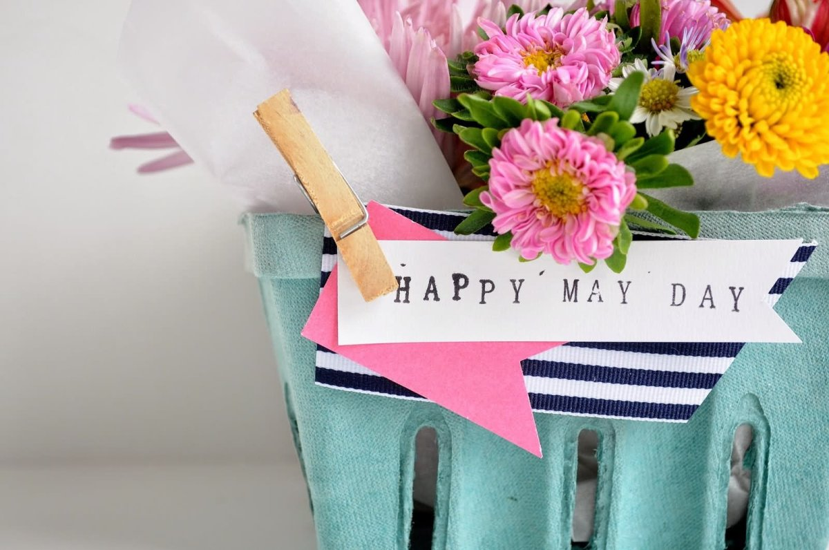 Happy-May-Day-Flower-Basket